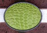 Loopty Loo Lime Croc Belt Buckle