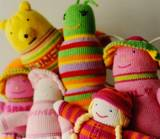 Personalized Cotton Hand Knit Sweeters Pals