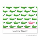 Boatman Geller Personalized Alligator Notes