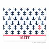 Boatman Geller Personalized Anchor Note