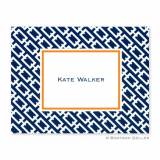 Boatman Geller Personalized Chain Link Note