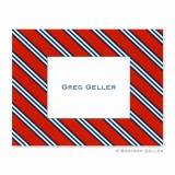 Boatman Geller Personalized Repp Tie  . . .
