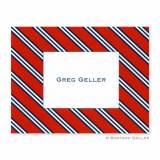 Boatman Geller Personalized Repp Tie  . . .