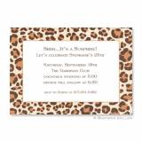 Boatman Geller Personalized Leopard Brown  . . .