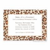 Boatman Geller Personalized Leopard Brown  . . .