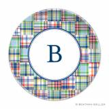 Boatman Geller Personalized Madras Plate