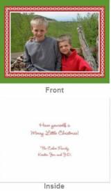 Alex Green Folded Photocard