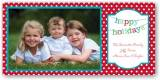 Banner Happy Holidays Photocard