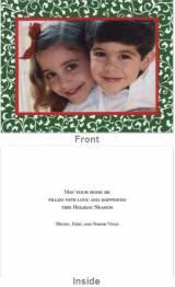 Vines Green Folded Photocard