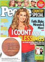 People Magazine 2011 Monogrammed Cutting  . . .