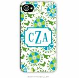 Personalized Phone Case Suzani Teal