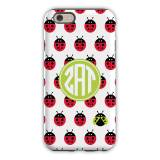 Personalized Phone Case Ladybugs Repeat