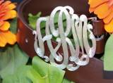 Monogrammed Belt Buckles From The Pink  . . .