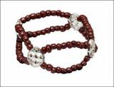 Gracewear Brown Beaded Stretch Faith  . . .