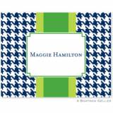 Boatman Geller Personalized Houndstooth  . . .