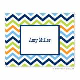 Boatman Geller Personalized Chevron Notes