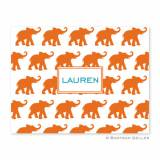 Boatman Geller Personalized Elephants Notes