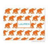 Boatman Geller Personalized Elephants Notes