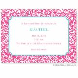 Boatman Geller Personalized Chloe Invitation