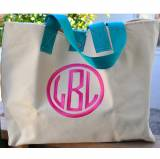 Queen Bea Cole Bag With Monogrammed Dot Or  . . .