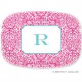Personalized Chloe Melamine Platter Design  . . .