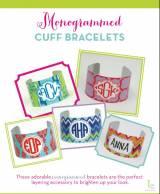 Monogrammed Cuff Bracelet
