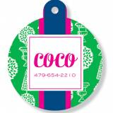 Personalized Round Pet Tag