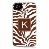 Personalized Zebra Phone Case Design Your Own