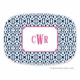 Personalized Cameron Melamine Platter From  . . .