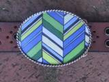 Loopty Loo Beach Glass Belt Buckle