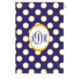 Monogram Laundry Bag With LSU Purple Gold  . . .