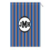 Monogram Laundry Bag With Florida Orange  . . .