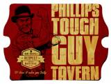 Personalized Vintage Tough Guy Tavern Sign