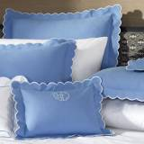 Matouk Diamond Pique Monogrammed Bedding  . . .
