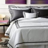 "Matouk Allegro Duvet Cover King With 14""  . . ."