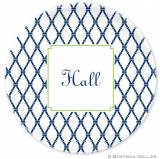 Boatman Geller Personalized Plate With  . . .