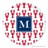 Boatman Geller Personalized Melamine Plate  . . .
