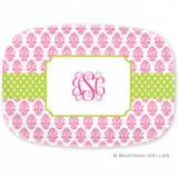 Personalized Beti Pink  Platter By Boatman  . . .
