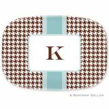 Personalized Alex Houndstooth Chocolate  . . .