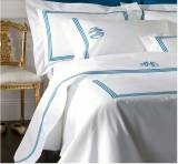 Matouk Bel Tempo Twin Flat Sheet Twin With  . . .