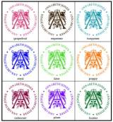 Single Color Stamp Refills For Your PSDA  . . .