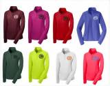 Monogrammed Ladies Quarter Zip Sports  . . .