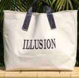 Queen Bea Monogrammed All Purpose Canvas Tote