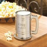 Engraved Gunmetal Mug