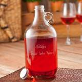 Engraved Wine Jug Perfect For Parties