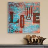 Personalized Canvas Print Graffiti Style  . . .