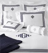 Matouk Newport Flat Sheet Twin No Monogram