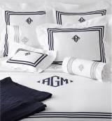 """Matouk Newport King Pillow Cases Pair 4""""  . . ."""