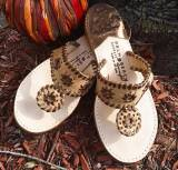 Cork With Bronze Palm Beach Sandals