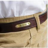 Men s Personalized Leather Single Shot  . . .